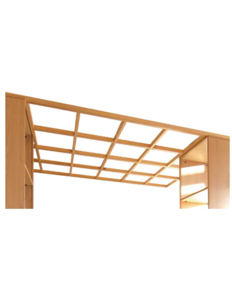Pergolato in legno per interni al mq for Pergola bioclimatica prezzo mq