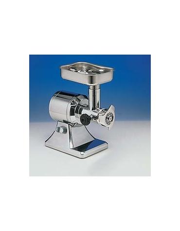 Tritacarne professionale Attacco 12 - Gruppo macinazione in acciaio inox - Monofase