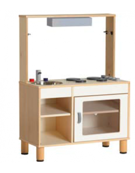 MOBILE CUCINA CON CAPPA/LAVELLO 85X41X54/110H - dinaforniture.it