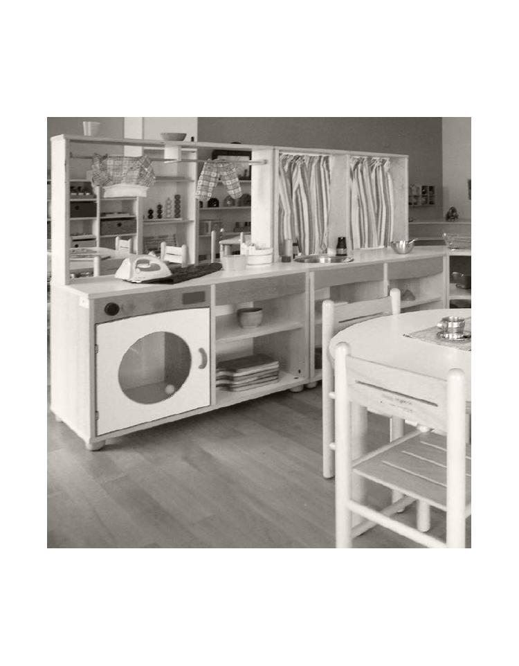Mobile cucina con cappa lavello 85x41x54 110h - Lavello cucina con mobile ...