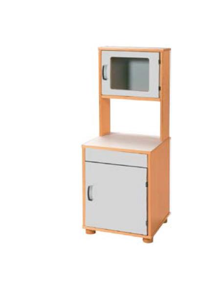 Mobile frigorifero forno microonde cm 42 5x41x54 110h - Mobile microonde ...