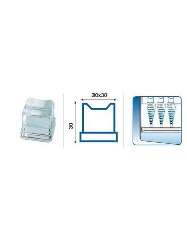 Macchina per cubetti di ghiaccio professionale da Kg 160/24h - Contenitore da Kg 68 - Raffreddamento ad aria