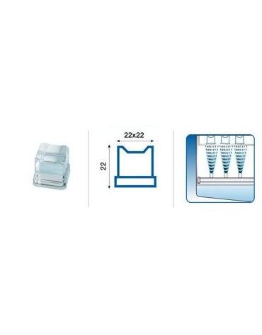 Macchina per cubetti di ghiaccio professionale da Kg 31/24h - Contenitore da Kg 17 - Raffreddamento ad acqua