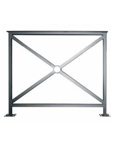 Barriera standard zincata e verniciata cm 100