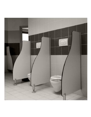 PANNELLO DIVISORIO WC SAGOMATO cm 60x120h
