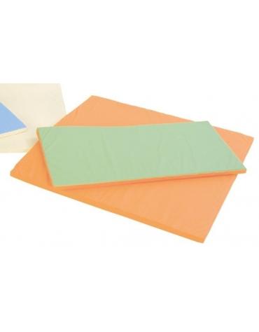 Tappeto rettangolare Soft  - Azzurro e panna
