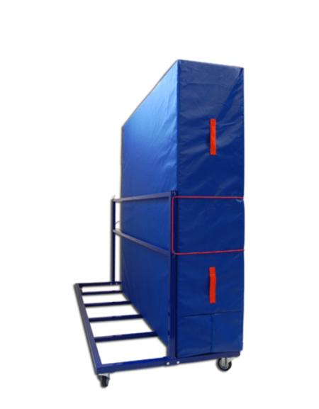 Carrello verticale porta materassi in acciaio verniciato - Dimensioni porta ...