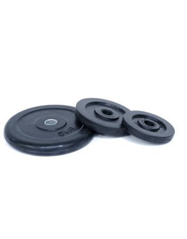 Dischi di ghisa ricoperti di gomma, foro diametro mm 26. Prezzo al kg
