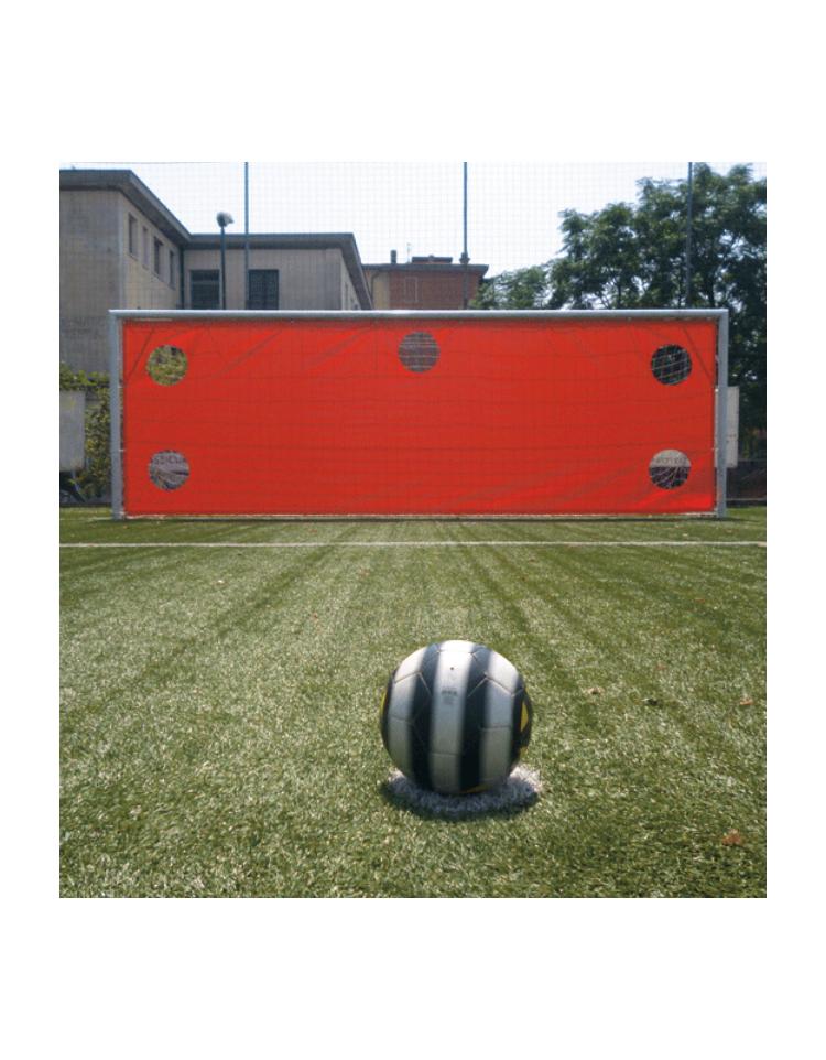 Telo per tiri di precisione di pvc da fissare alla porta - Dimensioni della porta da calcio ...