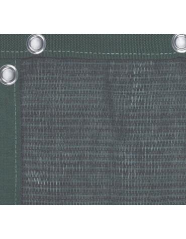 Telo fondo campo per campi tennis, colore verde, dimensioni mt 18x2