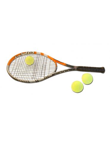 Racchetta tennis Babolat in grafite completa di corde e fodero