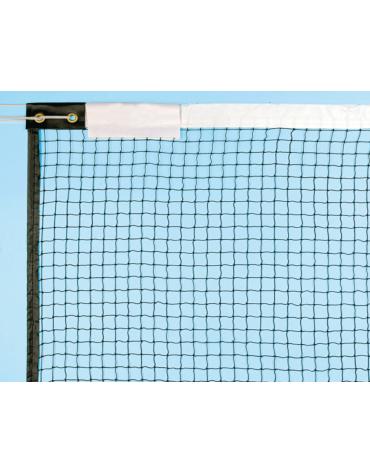 Rete di nylon per badminton . Completa di fascia superiore, Lunghezza cm 610