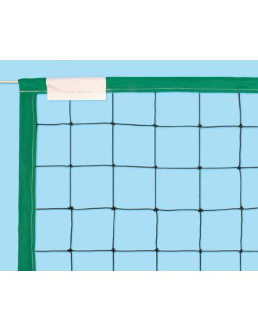 Rete in nylon con banda perimetrale in polipropilene per beach volley