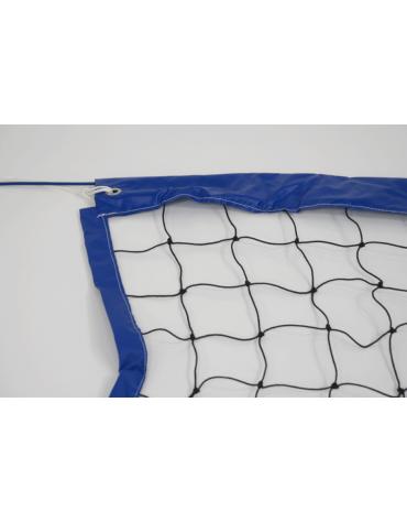 Rete in nylon con banda perimetrale in pvc e antenne perbeach volley professionale