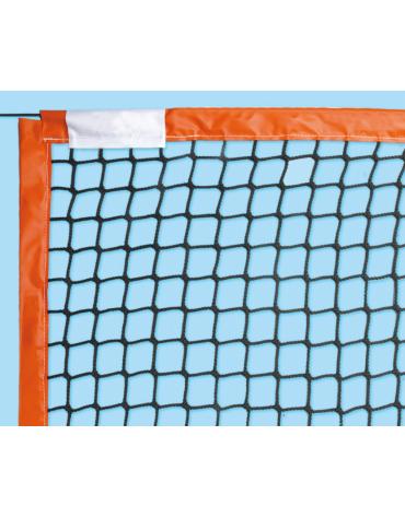 Rete in nylon con banda perimetrale in pvc per beach tennis