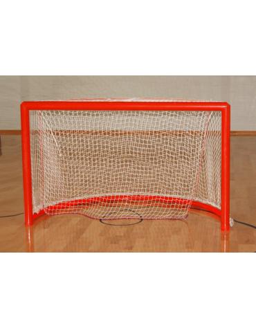 Coppia porte in acciaio verniciato per hockey su pista, regolamentari
