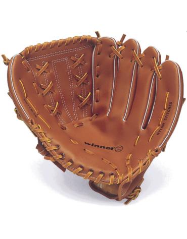 Guantone in pelle sintetica per baseball