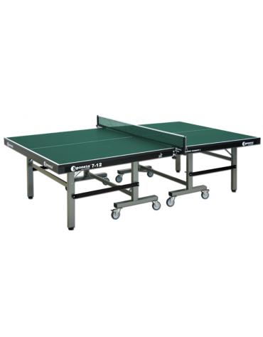 Tavolo tennis per interno pieghevole e mobile su ruote, omologato ITTF