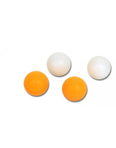 Confezione di 6 palline bianche o gialle per tennis tavolo