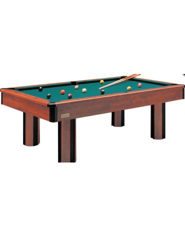 Carambola senza gettoniera, struttura di legno, piano di gioco in ardesia cm180x90