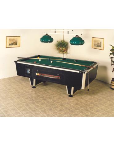 Carambola con gettoniera, struttura rinforzata, piano di gioco in ardesia cm200x100
