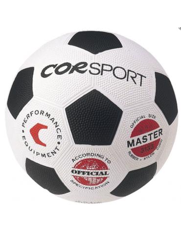 Pallone calcio misura 5, in gomma-nylon