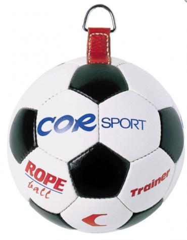 Pallone con gancio in pelle sintetica per forca palloni