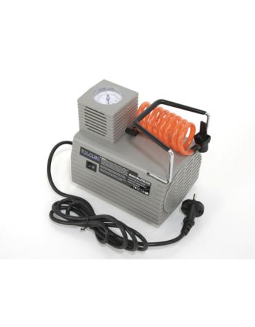 Compressore elettrico con manometro per gonfiaggio palloni