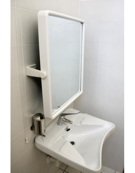 Specchio basculante a parete per disabili - Specchio parete grande ...