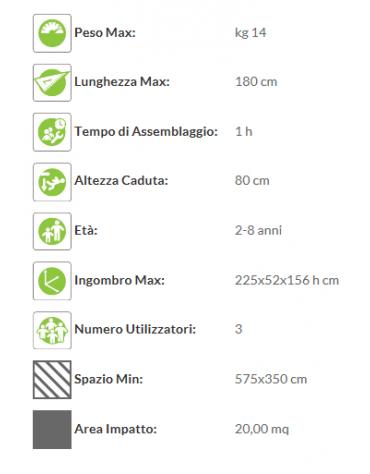 Scivolo Coccinella