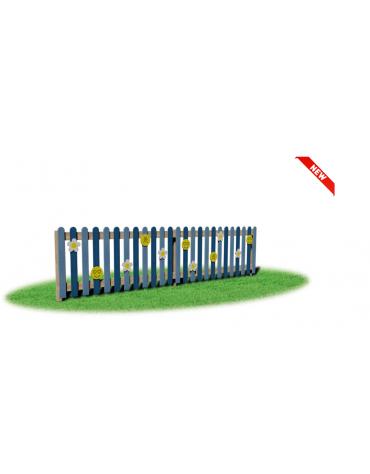 Recinzione Ionio - Dimensione singolo modulo: cm 200 x 14,5 x 100 h