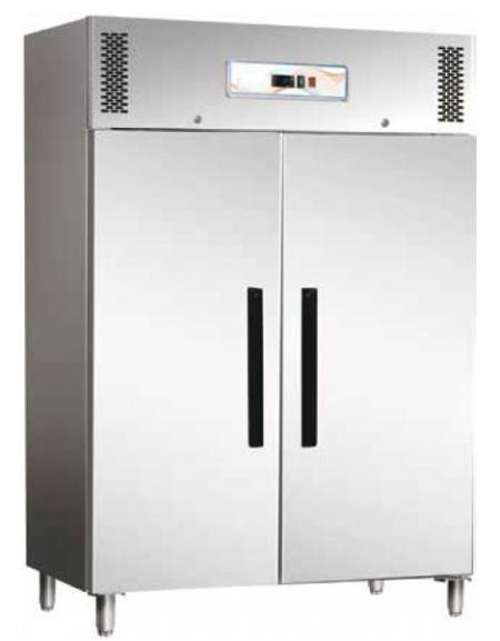 Armadio frigorifero ventilato 2 porte Lt 1.400 in acciaio inox AISI ...