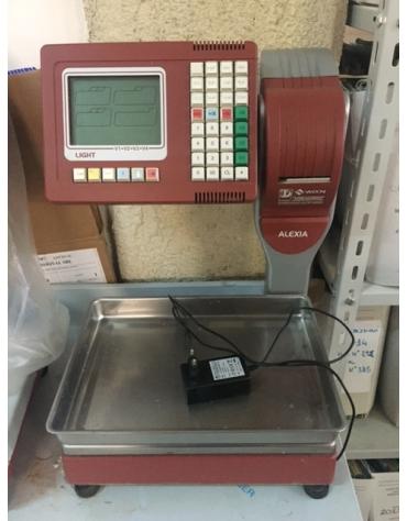 Bilancia elettronica con stampante per scontrino - USATA