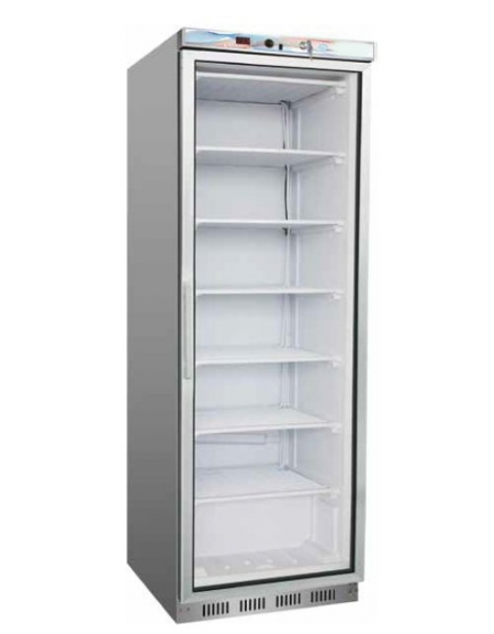 armadio frigo negativo congelatore statico lt 350-porta a vetro - cm