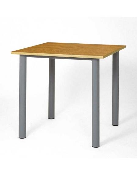 Tavolo quadrato mensa cm 80x80 arredamento scolastico for Tavolo quadrato grande