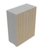 Mobile armadio medio per ufficio da cm. 90 ante legno