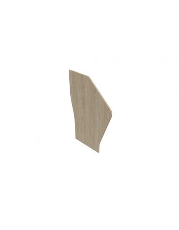 Reception - Fianco di chiusura per bancone - cm 80x1,8x123