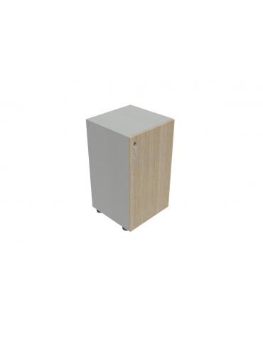 Contenitire Basso anta in legno con serratura - cm 45X45X80