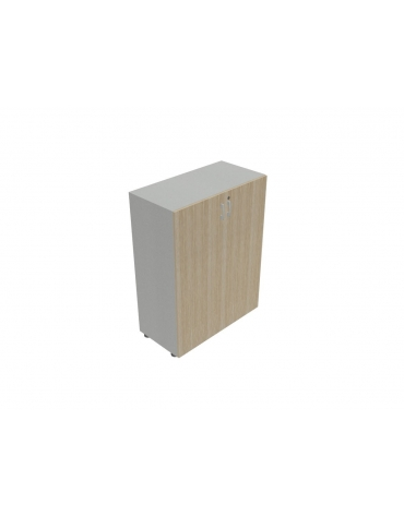 Contenitire medio ante in legno con serratura sovrapponibile - cm 90X45X119