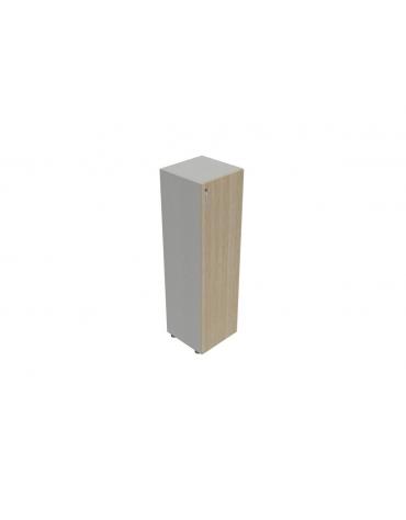Contenitire medio-alto anta in legno con serratura - cm 45X45X157