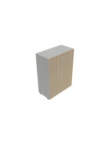 Contenitire medio-alto anta in legno con serratura - cm 90X45X157