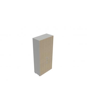 Contenitire alto ante legno con serratura - cm 90X45X196