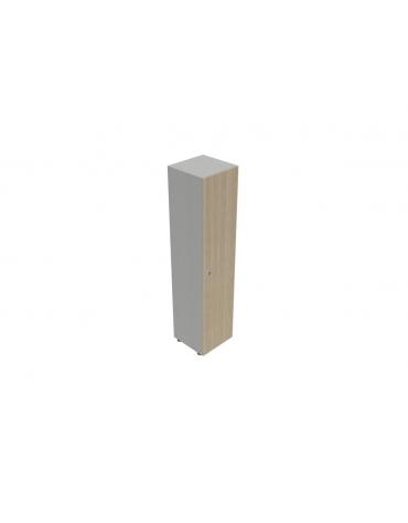 Contenitire alto anta legno - cm 45X45X196