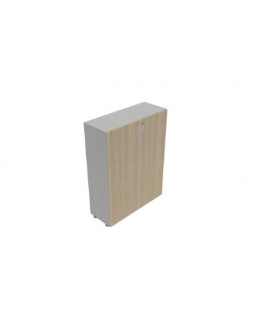 Contenitore medio ante in legno con serratura- cm 90X35X119