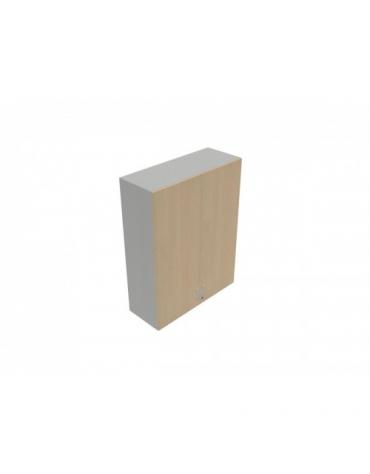 Contenitore medio ante in legno con serratura sovrapposta - cm 90X35X119