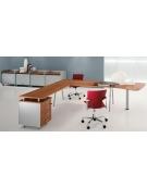 Dattilo scrivania con gambe a cavalletto da cm. 120x60x72h