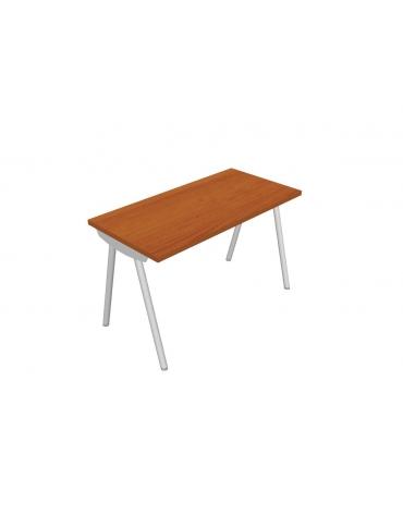 Dattilo - scrivania - gamba a cavalletto - cm 140x60x72h