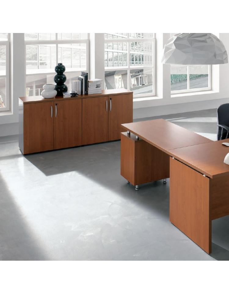 Scrivania ufficio operativa cm 160x80x72h for Ufficio scrivania
