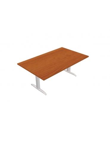 Tavolo riunione - gamba a T - cm 240x110x72h