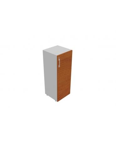 Contenitire basso anta in legno con serratura - cm 45x45x80h